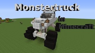 getlinkyoutube.com-How to build a MONSTERTRUCK in minecraft