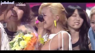 getlinkyoutube.com-[ENG SUB] 110429 f(x) 1st win on KBS Music Bank