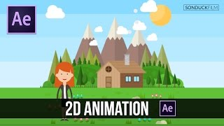 getlinkyoutube.com-After Effects Tutorial: Easy 2D Animation
