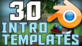 getlinkyoutube.com-Top 30 Minecraft Blender Intro Template