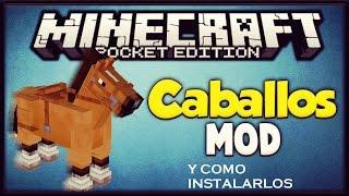 getlinkyoutube.com-Mod de caballos para minecraft 0.14.0 y como instalarlos