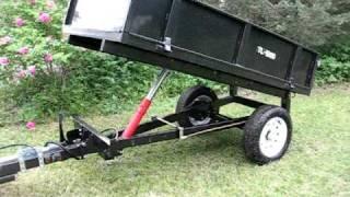 getlinkyoutube.com-Hydraulic Dump Trailer for Farm Tractor