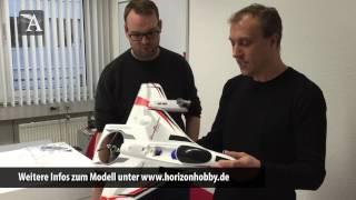 getlinkyoutube.com-Modell AVIATOR Unboxing-Video: Convergence VTOL von Horizon Hobby