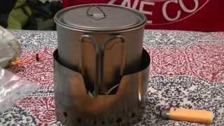 LiteTrail Titanium Solid Fuel Cook System - v3 - New 2014!