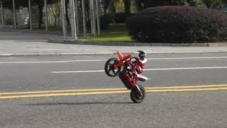 getlinkyoutube.com-Super Rider SR4 -- More wheelies and cart wheelies