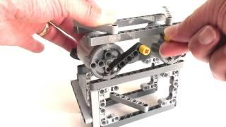 getlinkyoutube.com-Lego XL Motor as Generator / actuator