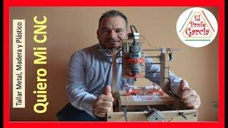 getlinkyoutube.com-✅ Quiero Mi CNC (Como se hace) Talla Metal, Madera, Plástico e impresos  PCB #1