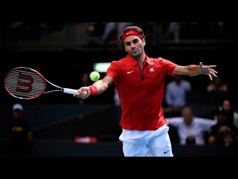 Highlights: Roger Federer (SUI) v Thiemo de Bakker (NED)