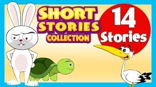 getlinkyoutube.com-SHORT STORY for CHILDREN (14 Moral Stories) | Tortoise and Rabbit Story  & more