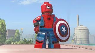 getlinkyoutube.com-LEGO Marvel Super Heroes - Captain America Civil War Spider-Man (MOD)