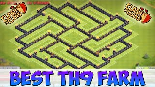 getlinkyoutube.com-[Speed Building]TOP BASE HDV 9 FARMING I Excellent  Protection of Ressources I Clash Of Clans