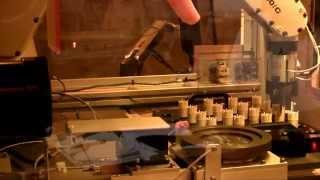 LED Laser Marking Robotic Manufacturing System | CMS Laser