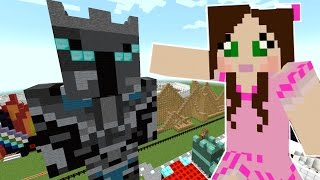 getlinkyoutube.com-Minecraft: MY GIANT STATUE! - POPULARMMOS THEME PARK [1]
