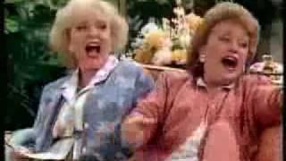 getlinkyoutube.com-Golden Girls - Rose & Blanche imagine Dorothy Naked