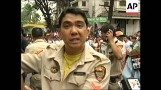 getlinkyoutube.com-Philippines: Manila: Armed Bank Robbery Attempt Foiled - 1996