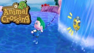 getlinkyoutube.com-Animal Crossing: New Leaf - Water Walking Glitch! (Nintendo 3DS Gameplay Walkthrough Ep.71)