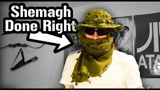 getlinkyoutube.com-How to Tie a Shemagh - Military Style