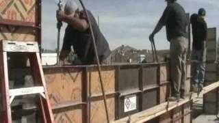 getlinkyoutube.com-The Process of Building Rammed Earth Walls. Alternative Construction Methods