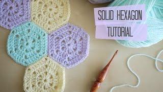 getlinkyoutube.com-CROCHET: Solid hexagon and joining tutorial | Bella Coco
