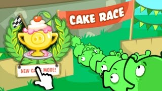 getlinkyoutube.com-Bad Piggies - CAKE RACE GAME MODE (New Update 2.2.0)