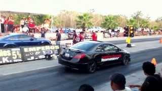 getlinkyoutube.com-Mustang GT500 Vs Honda Civic SI Nitro XmaKuil