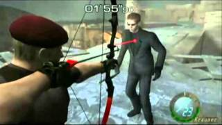 getlinkyoutube.com-Krauser Vs Wesker Resident Evil 4 HD