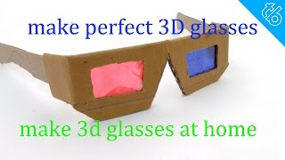 getlinkyoutube.com-how to make perfect 3D glasses at home