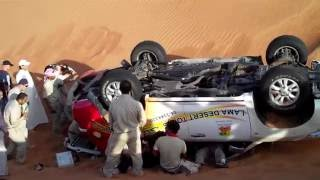getlinkyoutube.com-Dunes bashing on Safari nearby Dubai, 2011 - Aleksander Jakubczak