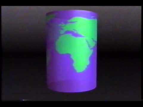 Map projections of the Earth