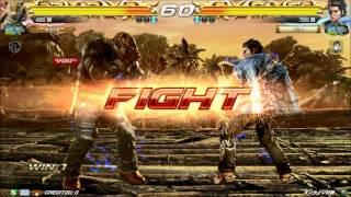getlinkyoutube.com-10/30 鉄拳7FR 破壊王vsバッツ 【風神戦】エンパラ