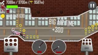 getlinkyoutube.com-Hill Climb Racing \ Factory \ 12923 meters on Ambulance