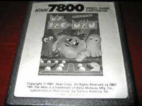 Classic Game Room HD - MS. PAC MAN for Atari 7800 review