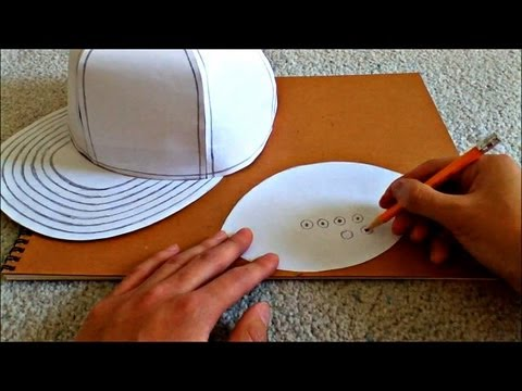 Tutorial On How To Make A Flat Brimmed Paper Hat new Era St