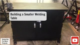 getlinkyoutube.com-Building A Smaller Welding Table (Work Bench)