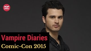 SDCC 2015: entrevista com Michael Malarkey de The Vampire Diaries