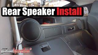 getlinkyoutube.com-Nissan 350Z Rear Speaker Install