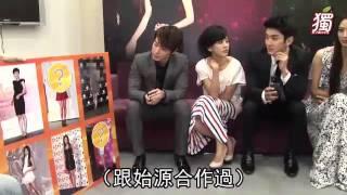 getlinkyoutube.com-[Eng Sub] 120117 Siwon & Donghae Apple News Skip Beat Interview