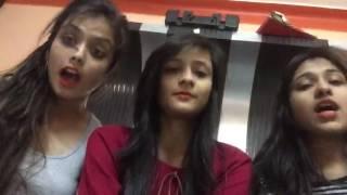 Cute Girls, Whatsapp video, funny video, Ek murgi ke do bachhe the