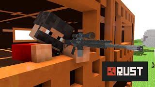 getlinkyoutube.com-If Minecraft would be like Rust ! ( Minecraft Animation )