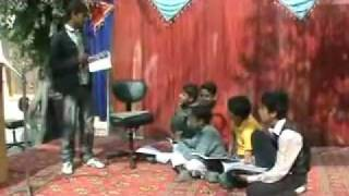 getlinkyoutube.com-Funny Tablo By Arslan Amanat and Friends At Hazara Public School & College Changa Manga