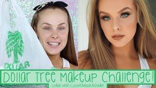 getlinkyoutube.com-Dollar Tree Makeup Challenge | Collab with LoveMelisaMichelle!