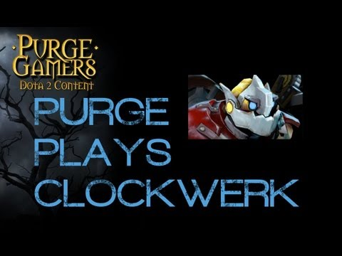 Dota 2 Purge plays Clockwerk