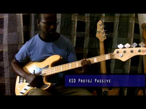 Marcus Millers Slap Bass Tone Test