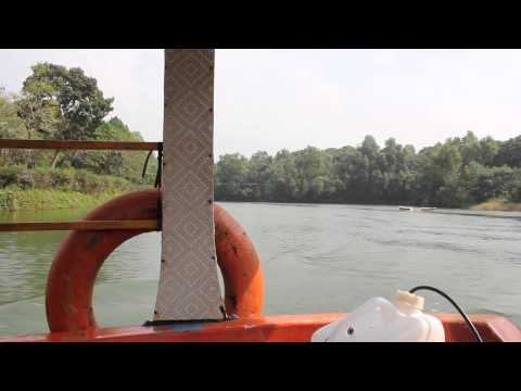 Boat ride along Pilikula Lake near Mangalore [Full HD]