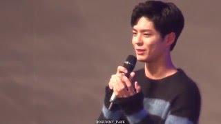 getlinkyoutube.com-20160116 박보검 팬미팅 (잘추죠)