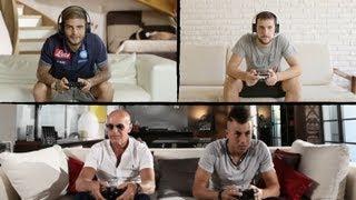 getlinkyoutube.com-Get on Board Tour - La grande sfida a FIFA 14 con El Shaarawy, Sacchi, Insigne e Destro