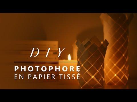 JOUR 15 : RÉALISER UN PHOTOPHORE EN PAPIER - DIY SIMPLE ET RAPIDE