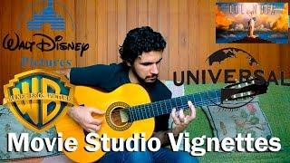 getlinkyoutube.com-Movie Studio Vignettes - Fingerstyle Guitar (Warner, Universal, Fox, DreamWorks, Columbia, Disney)
