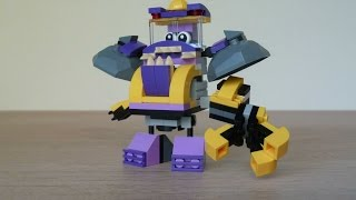 getlinkyoutube.com-LEGO MIXELS KRAMM VAKA WAKA MIX Instructions Lego 41545 Lego 41553 Mixels Series 6
