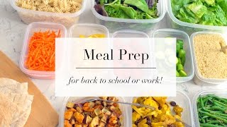 getlinkyoutube.com-How To Meal Prep for Beginners | EASY RECIPE PLAN | ANN LE